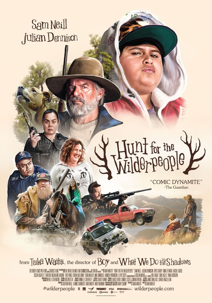 Hunt for the Wilderpeople 8/10 - genuinely hilarious and heart-warming. Ricky Baker is my new favourite character.