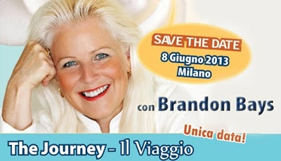 Eventi e Seminari: THE JOURNEY: Il Viaggio con BRANDON BAYS