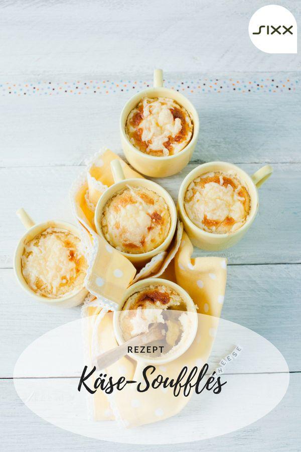 Rezept: Enie ist die Käse-Queen: Hier zaubert sie ein herzhaftes Käse-Soufflé auf den Tisch. Greyerzer und Gouda bilden das gelbe Meisterwerk in der Auflaufform. Eine geriebene Muskatnuss verfeinert den Genuss, so dass selbst die französische Küche neidisch auf das Soufflé blickt. Sweet & Easy - Enie backt - sixx