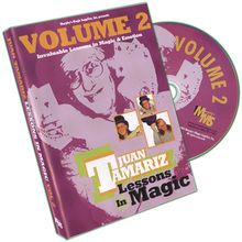Lessons in Magic Volume 2 by Juan Tamariz - DVD