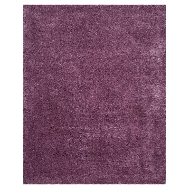 "Indie Shag Rug - Purple - (6'7""X9'2"") - Safavieh"