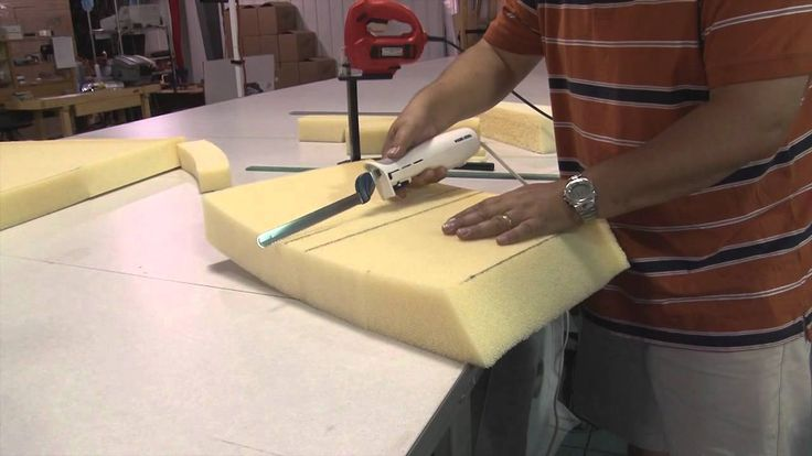 how to cut polystyrene with a knife