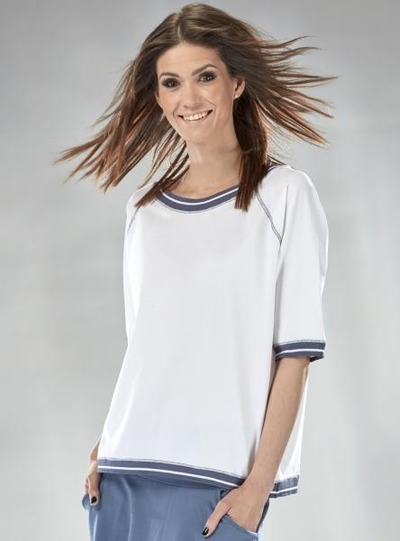 #Bluzka w #sportowy #styl #oversize #biały #white #mapepina #fashionproject #fashion #modern #active #women #streetstyle #styl #ubranie #ciuchy #stylizacja #nowe #warszawa #cute #schön #bluse #blúzka #halenka #chemisier #blus