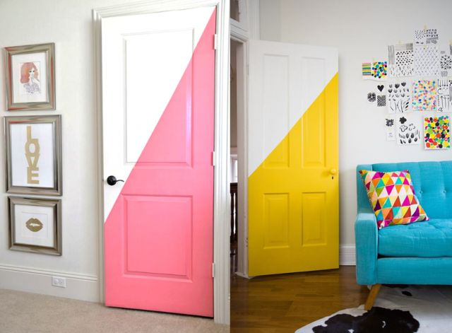 Best 25 peinture porte int rieure ideas on pinterest for Choisir couleur porte interieure