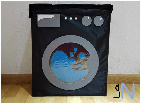 Customizar una bolsa skubb de ikea para la ropa sucia for Cesto ropa sucia ikea