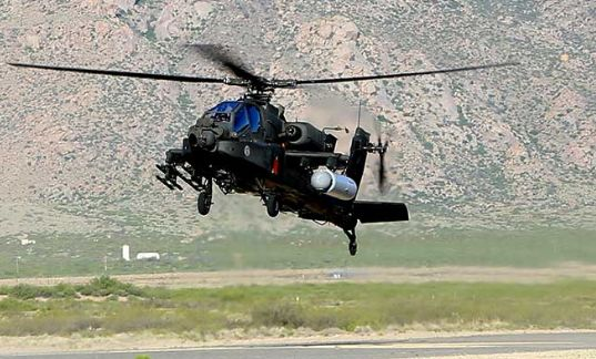 Бьет на полтора километра: на вертолеты