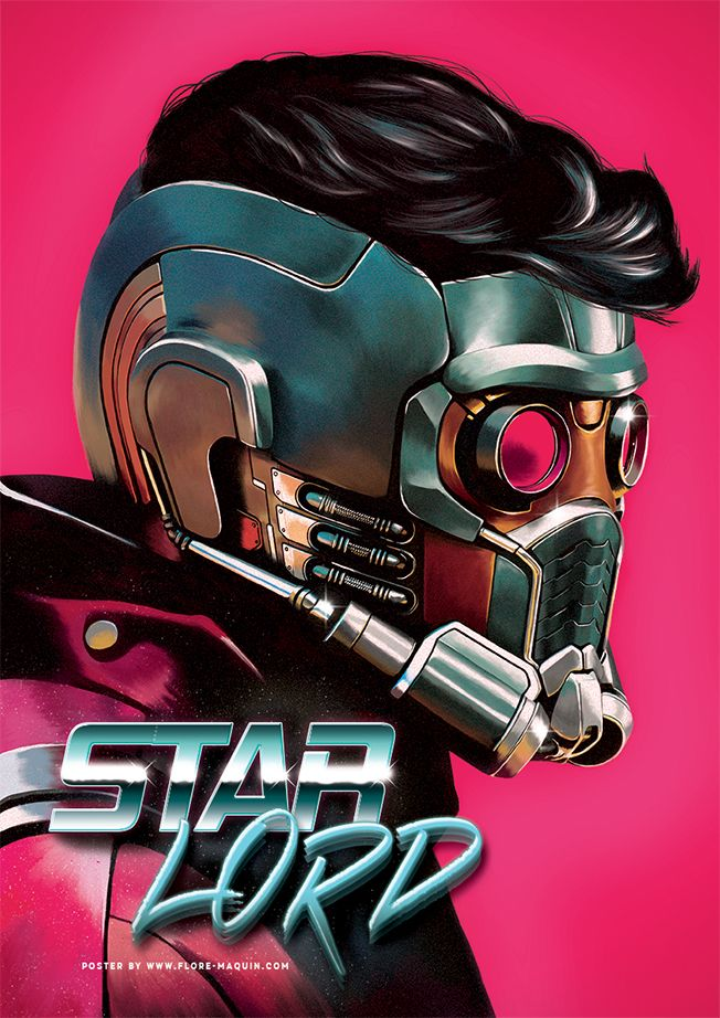 Star-Lord - Created by Flore Maquin