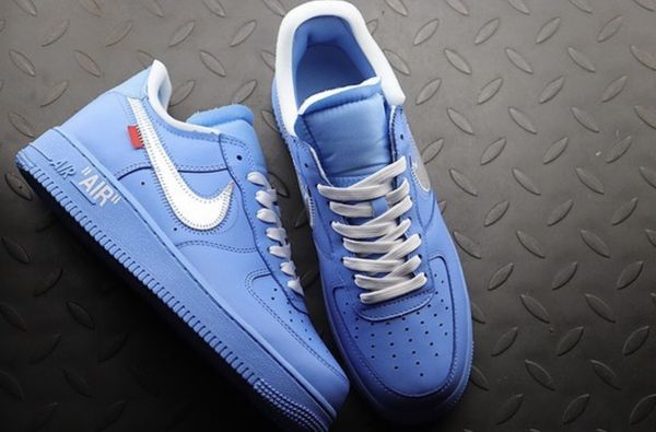 """Off White x Nike Air Force 1 """"MCA"""" University BlueWhite For Sale"""