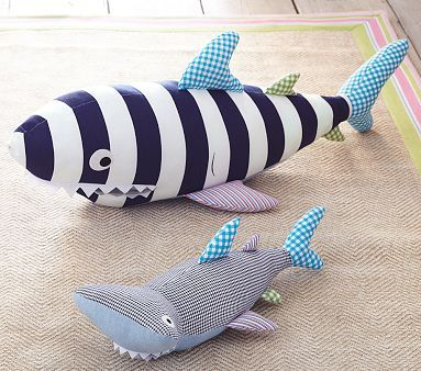 Shark Patchwork Plush