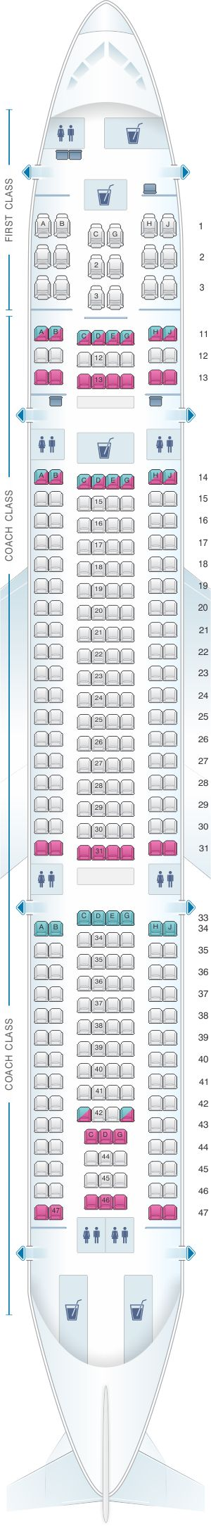 Best 25 Airbus A330 200 Seating Ideas On Pinterest Commercial Pilot School Airbus A330 300