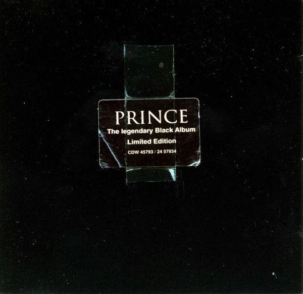 Prince's Black Album