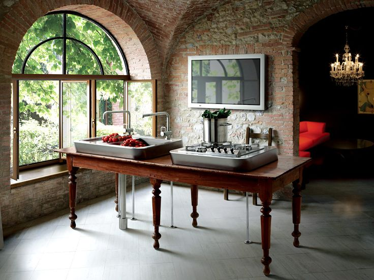 Best kitchen table setup ever!