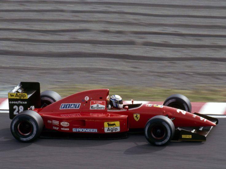 Nicola Larini, Ferrari F92A - Ferrari Tipo 038 3.5 V12 (Japan 1992)
