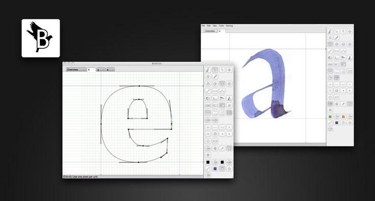 Freier Font-Editor - DESIGNER IN ACTION