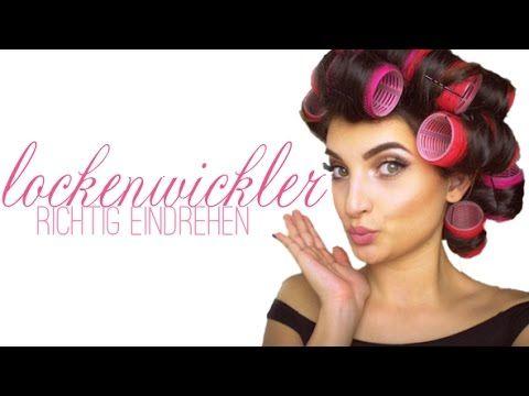 Lockenwickler richtig eindrehen - YouTube