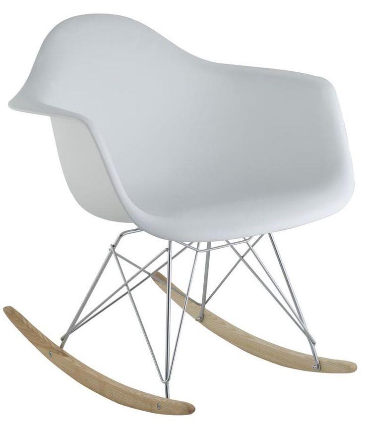 Cadeira de Balanço DSW Branco