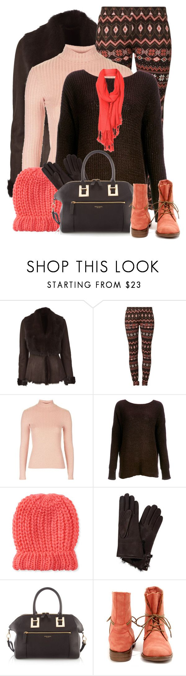 """Warm Layers"" by daiscat ❤ liked on Polyvore featuring L.K.Bennett, Evaw Wave, Topshop, BB Dakota, Aéropostale, Dents, Henri Bendel, women's clothing, women's fashion and women"
