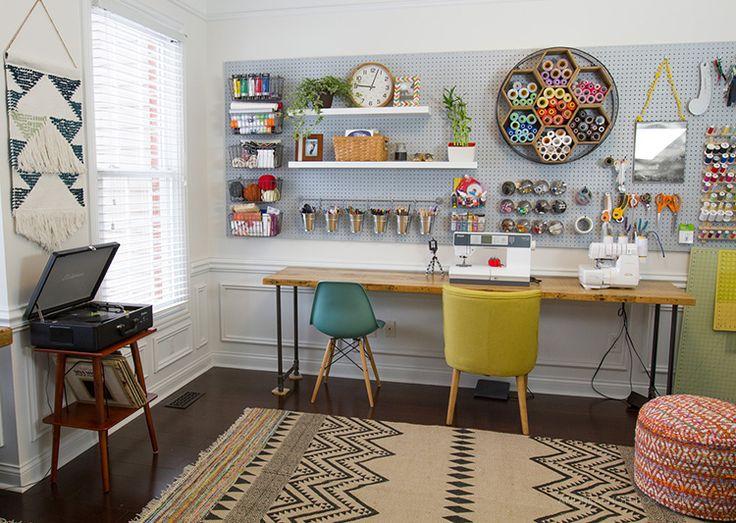 1298 Best Craft Room Ideas Images On Pinterest Craft