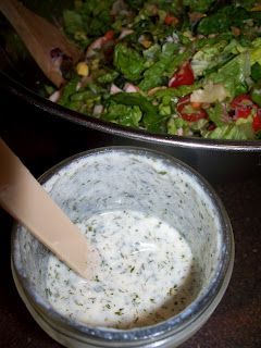 Jabez Farm: Kefir Ranch Dressing I used fresh garlic and fresh chives in place…