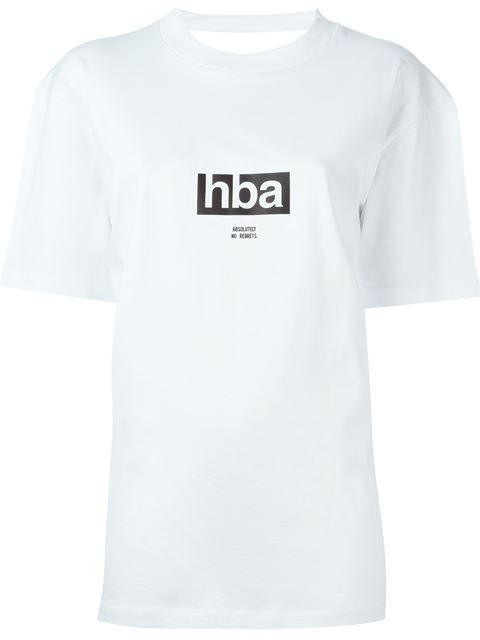 Купить Hood By Air футболка с открытой спиной  в Antonioli Ibiza from the world's best independent boutiques at farfetch.com. 400 бутиков, 1 адрес. .