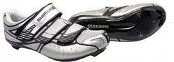 Shimano R160 SPD shoe, silver/black 2008 Please note that Custom moulding on these high-end performance Road SPD-SL shoes is only available upon collection from store http://www.comparestoreprices.co.uk/womens-shoes/shimano-r160-spd-shoe-silver-black-2008.asp