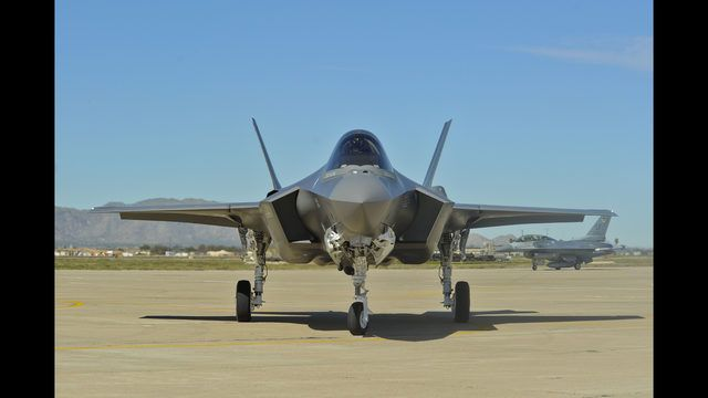 The U.S. Air Force will bring its F-35 Lightning II fighter to Idaho Falls' Extreme Blue Thunder Air Show this summer.