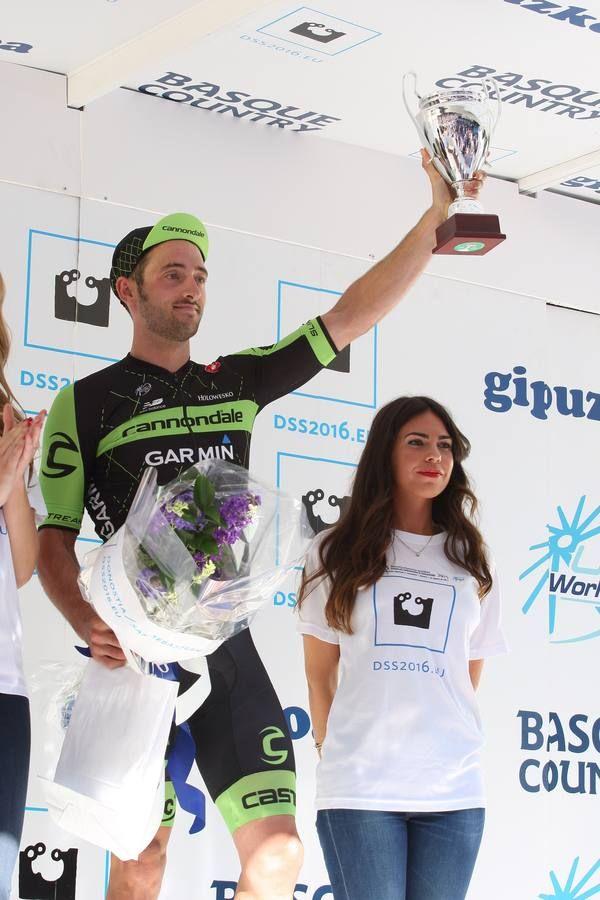 Adam Yates made the podium in the Clasica San Sebastian