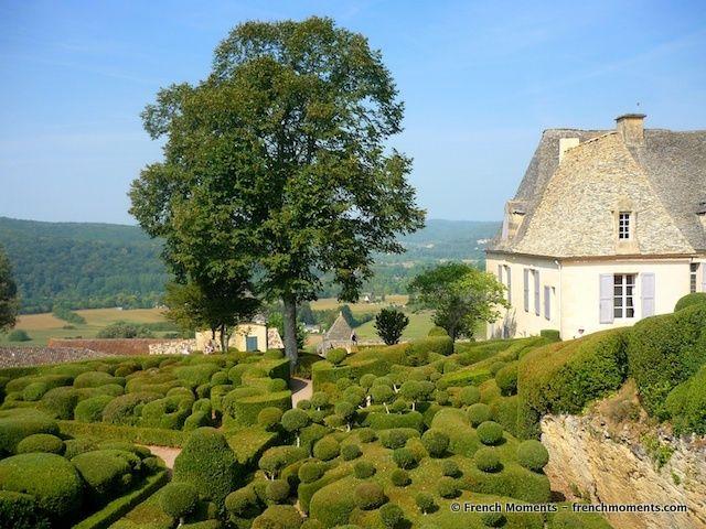 Les légendaires jardins suspendus de Babylone ont trouvé leur adaptation dans le Périgord Noir, plus précisément à Marqueyssac.