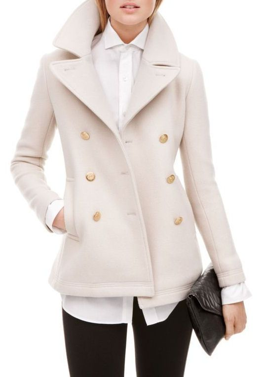 Best 25  Peacoat outfit ideas on Pinterest | Camel blazer, Fall ...