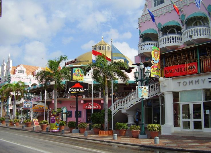 Oranjestad, Aruba- love me some Aruba!! Best island weather ever…
