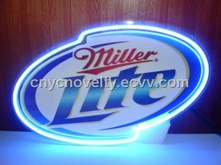 New Miller Lite neon sign/Neon open sign (NNC-422) - China Neon sign, sunkey