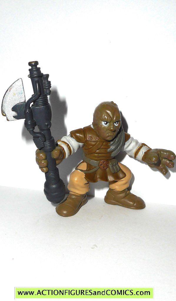 STAR WARS galactic heroes WEEQUAY 2007 jabba skiff guard action figure