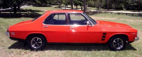 http://chicerman.com  carsthatnevermadeit:  40 years on Its New Years Eve so Im reflecting on 2015s new cars and comparing them to equivalent models from 1975. The Holden Commodore VFII is to be the last locally designed and manufactured large Holden. Pictured is the CommodoreSSV Redline whose 1975 great-great-great etc grandfather was the Holden HJ series Monaro GTS Sedan. The HJ came with 2.8-litre (112hp) and 3.3-litre (135hp) inline sixes and 4.2-litre (185hp) and 5.0-litre (240hp)V8…