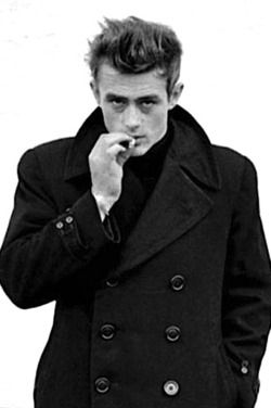 """James Dean.. Only made three movies, """"Rebel without a cause"""", """"East of Eden"""" and…"""