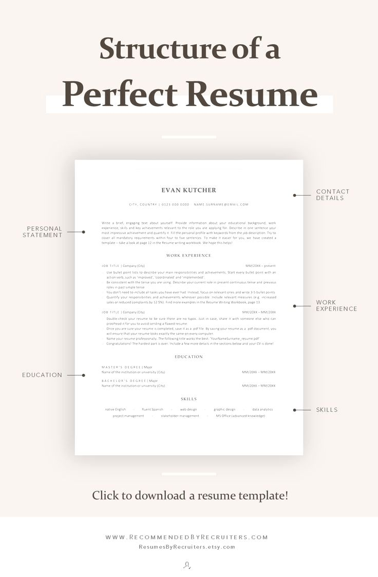 Resume Template Cv Template Professional And Creative Resume Design Cover Letter For Ms Word Resume Template Resume Tips No Experience Resume