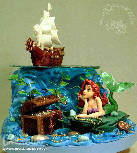 торт на морскую тему - Поиск в Google