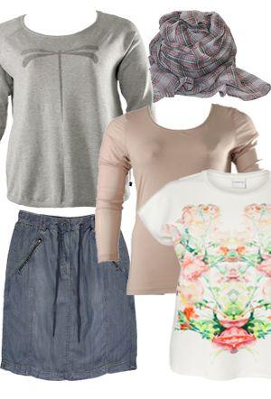 Inspiration med tøj i store størrelser til kurvede kvinder