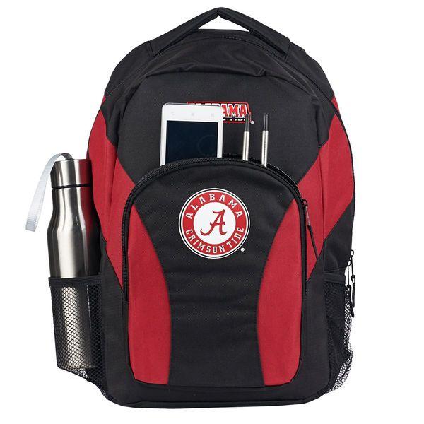 Alabama Crimson Tide The Northwest Company Draft Day Backpack - Black/Crimson - $29.99