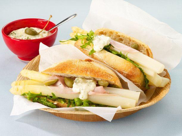 Unser beliebtes Rezept für Spargel-Burger und mehr als 55.000 weitere kostenlose Rezepte auf LECKER.de.