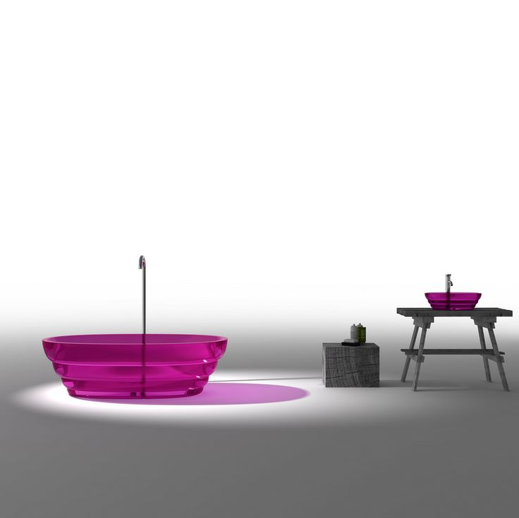 One of several new amazing bathtubs in jewel colours  from Paco Jaanson featured on Don't Call me Penny. http://dontcallmepenny.com.au/amazing-bathtubs/