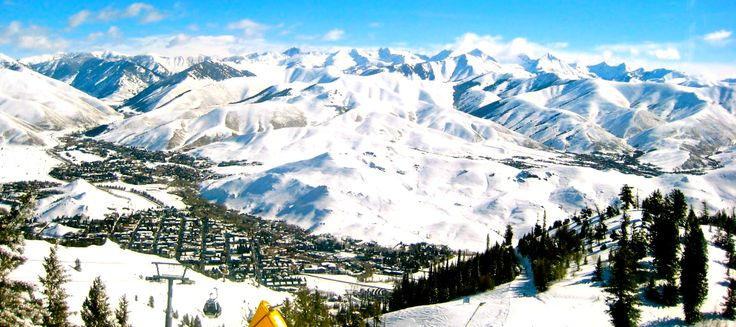Sun Valley, Idaho #ski #snowboard
