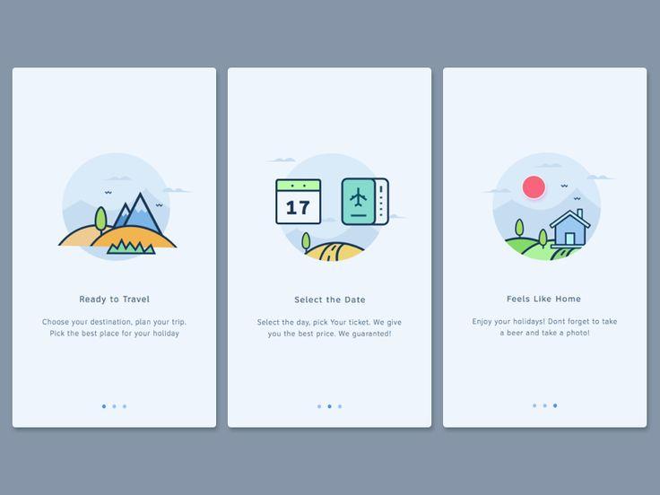 User Onboarding Screen by Anggit Yuniar Pradito