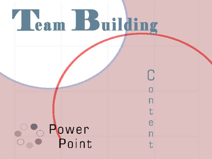 TEAM BUILDING POWERPOINT by Andrew Schwartz via slideshare