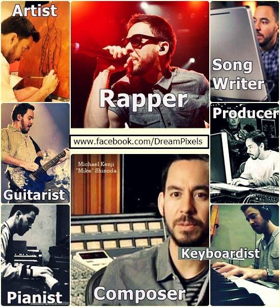 Mike Shinoda - multiple talented - Linkin Park
