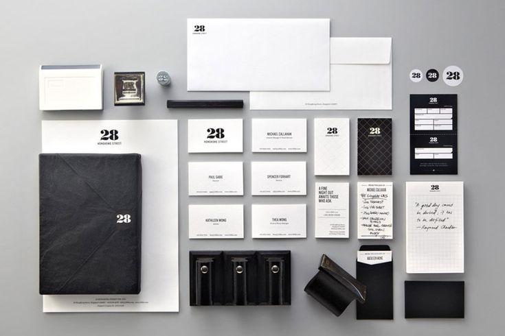 Identity: Hong Kong, Identity Branding, Black And White, 28 Hongkong, Graphics Design, Identity Design, Branding Identity, Corporate Branding, Hongkong Street