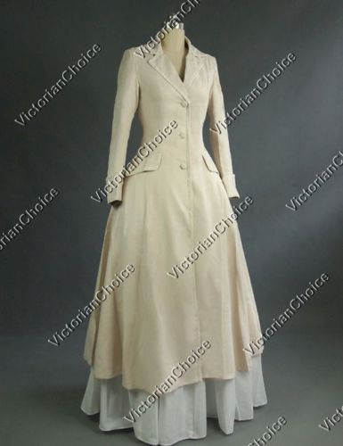 Victorian Style Blouses, Tops, Jackets    Victorian Edwardian Downton Abbey Frock Coat Steampunk Women Clothing C002 $175.00 AT vintagedancer.com