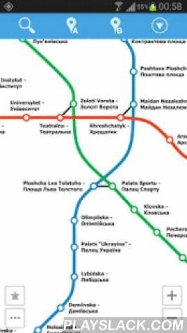 Kiev Metro Map  Android App - playslack.com , This is an easy-to-use navigator for Kiev metro. No Internet connection required so you can use it on the go.Features:- simple, fast and easy to use- gestures controlled map- stations quick search- optimal route planning- step-by-step route directions (on map or in a detailed list)