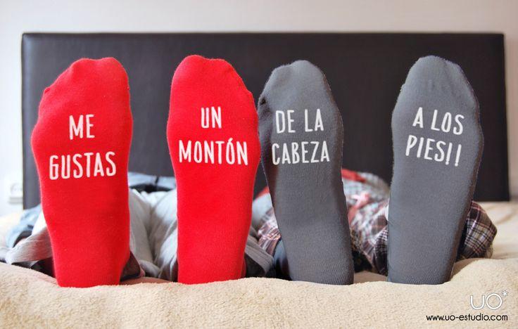 calcetines llenos de amor latiendadeuo.com