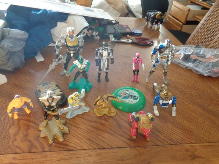 Nice lot of Power Rangers (13) action figures,morpher Caketoppers & HTF   Toys & Hobbies, Action Figures, TV, Movie & Video Games   eBay!