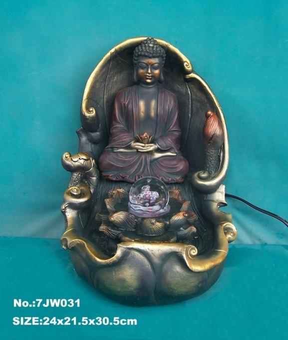Water Fountain Gautama Siddhattha Buddha
